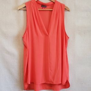 Vince Camuto sleeveless silky top size Large EUC